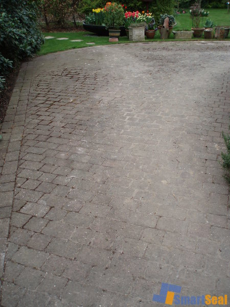 Poor conditioned driveway